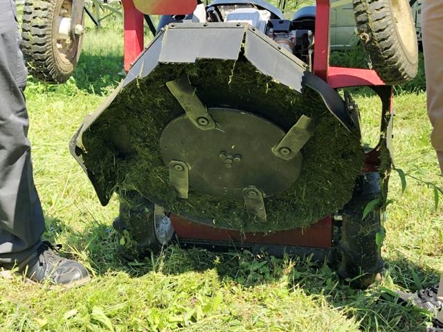 ゼノア ラジコン 草刈 機